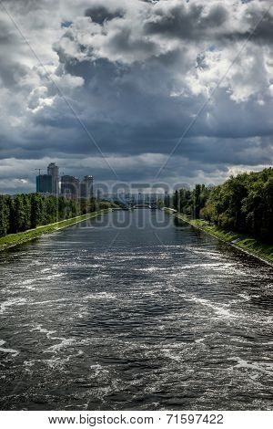 View Of The Moscow Canal
