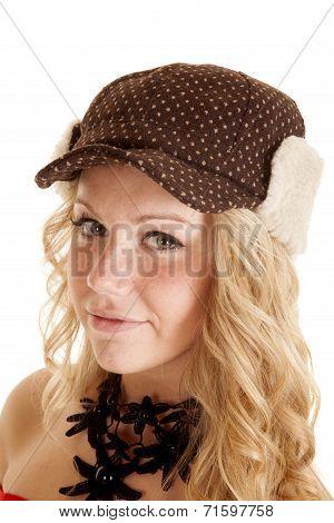 Warm Hat Woman Blond
