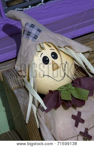 Contented Scarecrow