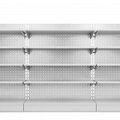 stock photo of exposition  - Store shelves - JPG