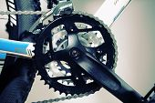 picture of exercise bike  - Mountain bike chain set - JPG
