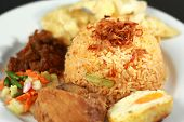 picture of nasi  - Fried rice or nasi goreng - JPG