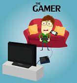 Постер, плакат: Gamer