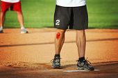 stock photo of scabs  - a man - JPG
