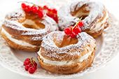 image of cream puff  - Cream puff rings  - JPG