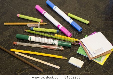 Pencils And Felt-tip Pens