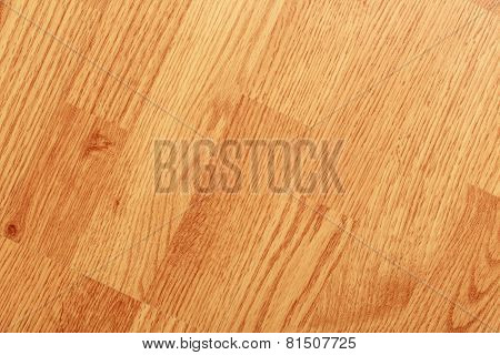 Textured Background Of Clean Laminated Floor