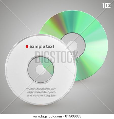 Cd front and rear