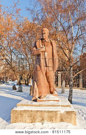 Sculpture Of Joseph  Stalin (circa 1938). Moscow, Russia
