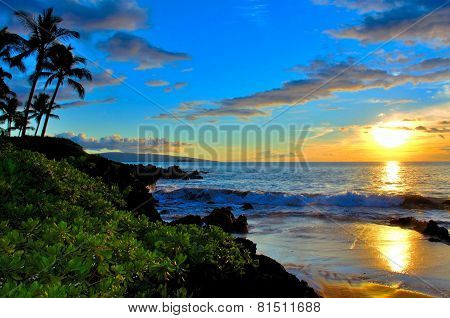 Maui Beach Sunset