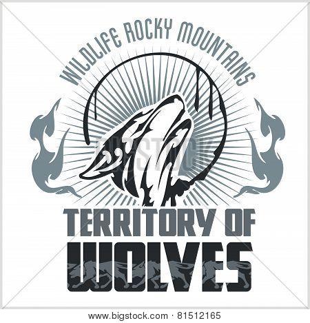 Howling Wolf emblem -  dangerous territory.