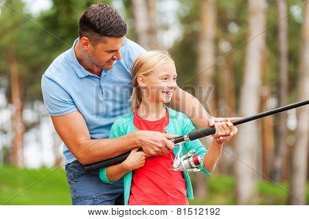 Fishing Together Is Fun.