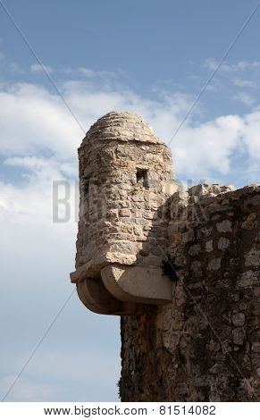 BUDVA, MONTENEGRO - JUNE 09, 2012: Old Budva city walls, Montenegro, on June 09, 2009.