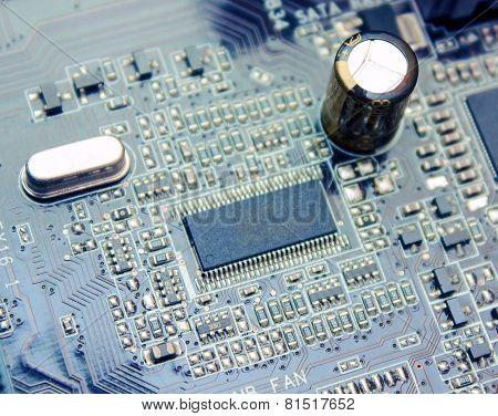Computer Circuit Plate Macro