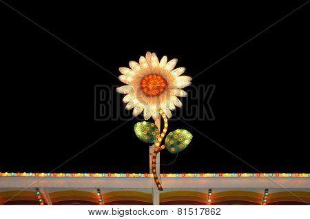 Electric Flower Flashing Lights