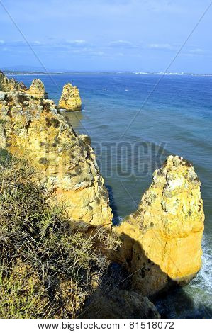 Ponta Da Piedade spectacular rock formation