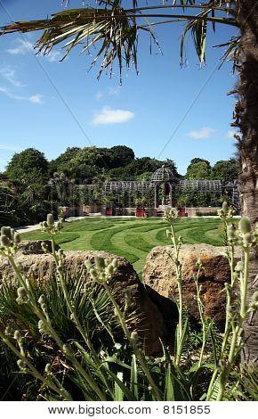 Jardines del castillo de Arundel