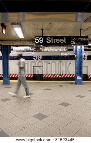 New York City - Subway Station