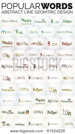 Mega collection of popular web keys - Christmas, blog, logo, music and other