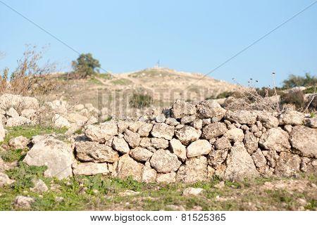 Historical Ruins In Israel