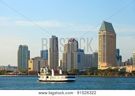 San Diego California USA downtown