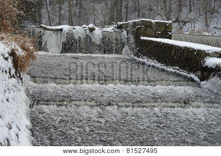 Dam On River Nezarka