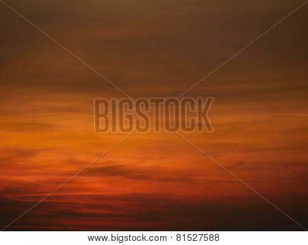 Background Of Sunset