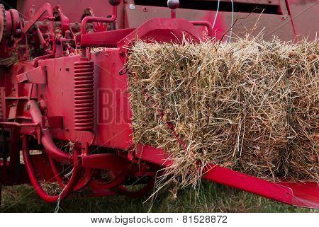 Compress Hay Bale
