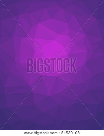 Violet Poligon Vertical Background