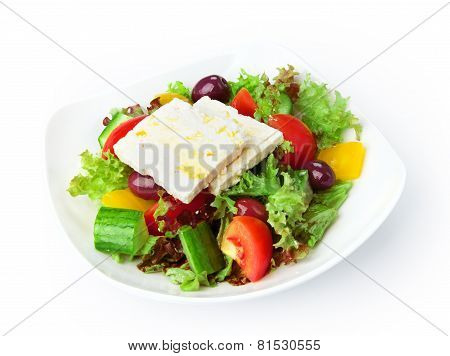 Restaurant Food Isolated - Greek Salad