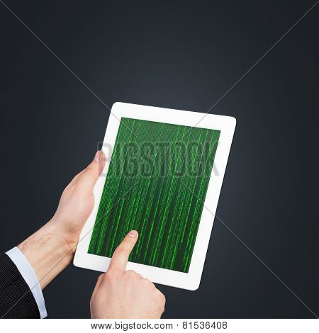 Touch Pad With Matrix