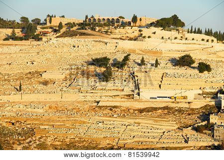 View Of The Mount Of Olives, Jerusalem