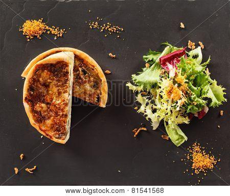 french quiche pie