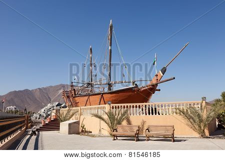 Historic Ship In Khor Fakkan