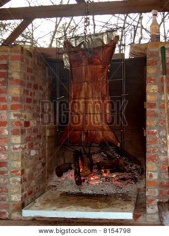Cochon de Lait Pig Cooking