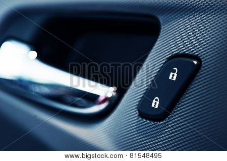 Car Door Lock Button