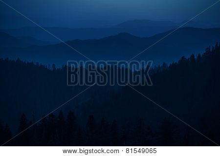 Mountain Hills Silhouettes