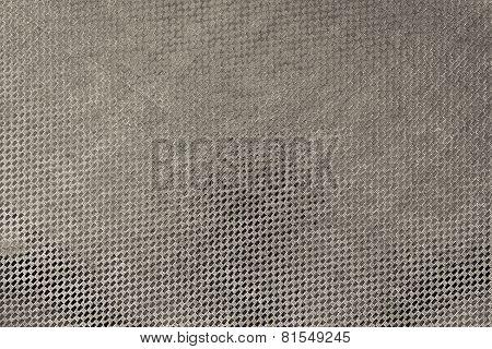 Texture Shiny Fabric Of Dark Beige Color
