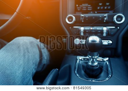 Stick Shift Driver