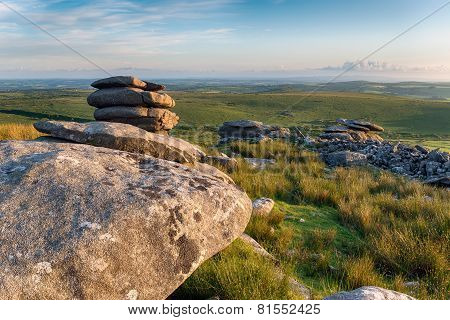 The Cheeswring On Bodmin Moor