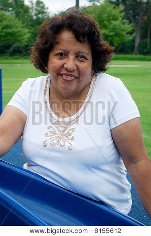 Hispanic Woman