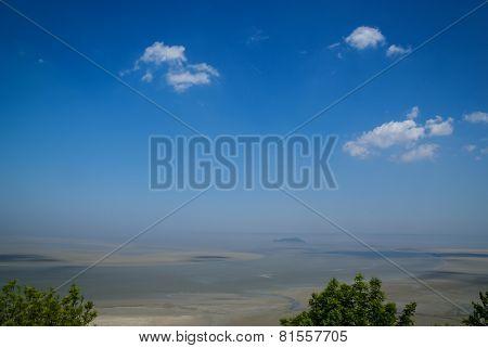 Landscape In Pastel Colors, Mont Saint Michel, France