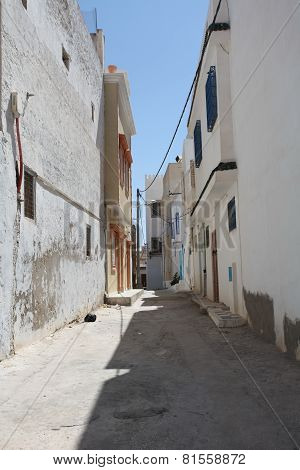 tunisia street of the old