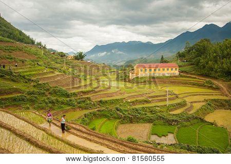Sapa, Lao Cai Province, Vietnam