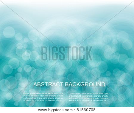 Vector Soft Colored Abstract Background.