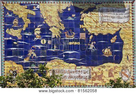 Amalfi Mural