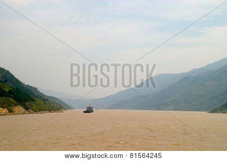 Mountains At Yangtze River