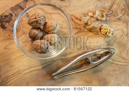 Walnuts from the top
