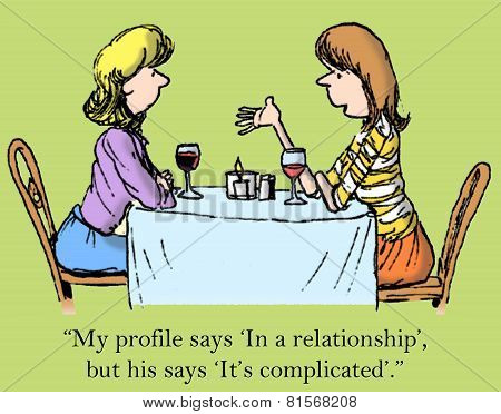 Contrasting Dating Profiles