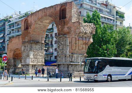 Greece, Thessaloniki, Arch Of Galerius